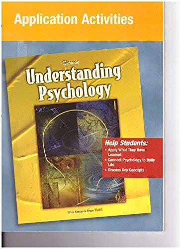 9780078223907: Understanding Psychology Application Activities
