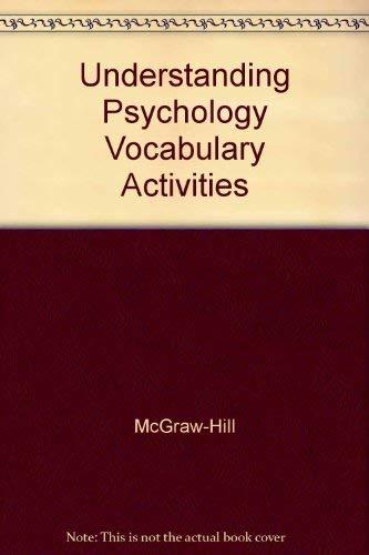 9780078223983: Understanding Psychology Vocabulary Activities