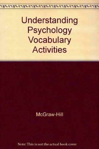 9780078223983: Understanding Psychology Vocabulary Activities