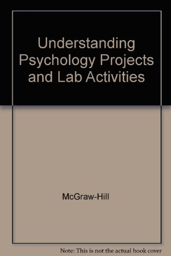 9780078223990: Understanding Psychology Projects and Lab Activities