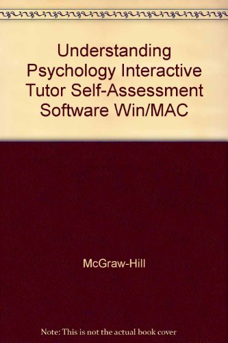 9780078224065: Understanding Psychology Interactive Tutor Self-Assessment Software Win/MAC