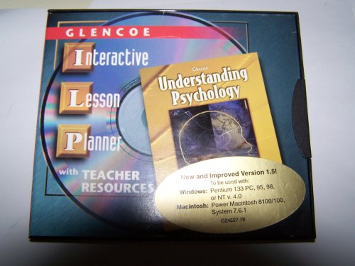 9780078224096: Understanding Psychology Interactive Lesson Planner CD-Rom, (Win/MAC)