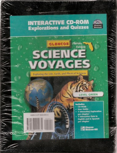 9780078224935: Interactive CD-ROM Explorations and Quizzes Level Green (Science Voyages, Flrodia Edition)