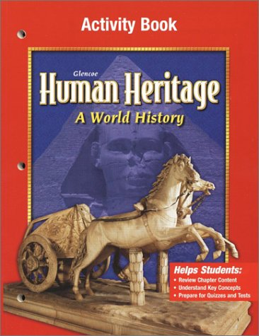 9780078225246: Human Heritage: A World History Activity Book