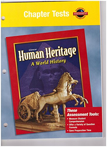 9780078225314: Human Heritage, Chapter Tests