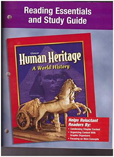 9780078225505: Human Heritage, Reading Essentials and Study Guide