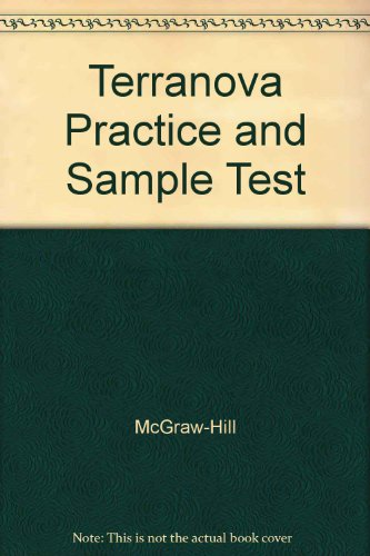 9780078225925: Terranova Practice and Sample Test
