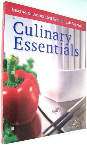 Culinary Essentials, Instructor Edition Lab Manual: McGraw-Hill