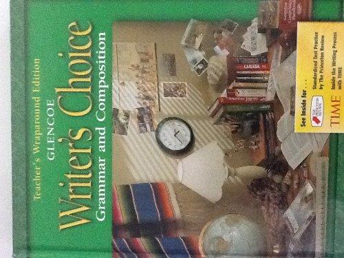 9780078226595: Writer's Choice Grammar and Composition Teacher's Wraparound Edition