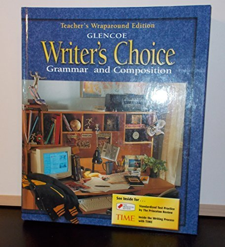 9780078226618: Writer's Choice Grammar and Composition Grade 11 Teacher's Wraparound Ed.