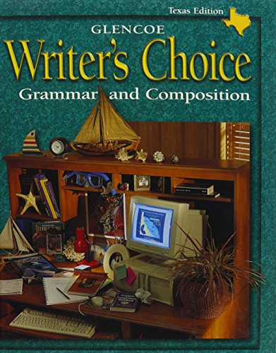 9780078228162: Writers Choice: Grammar and Composition Texas Edition