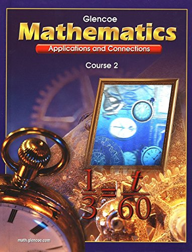 9780078228599: Mathematics (Applications and Connections, Course 2)
