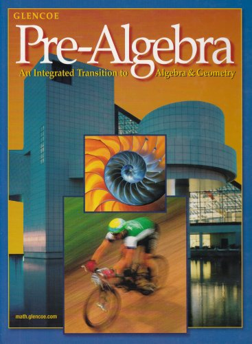 Pre-Algebra: An Integrated Transition to Algebra &: Jack Price