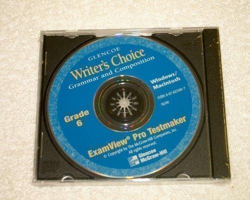 ExamView Pro Testmaker Grade 6 (Writer's Choice: Glencoe