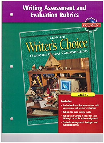 9780078232336: Writer's Choice Writing Assessment and Evaluation Rubrics Grade 9