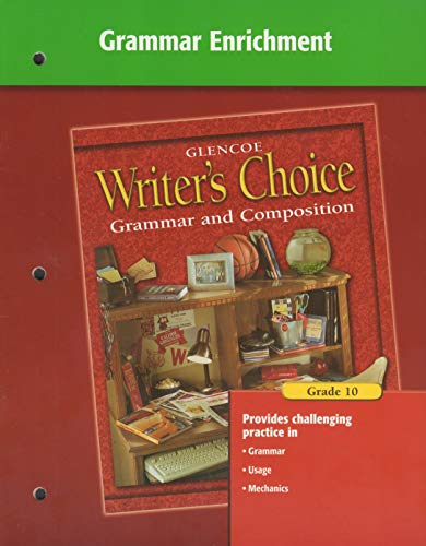 9780078233357: Writer's Choice Grammar Enrichment Grade 10
