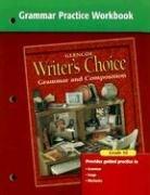9780078233562: Writer's Choice Grammar Practice Workbook Grade 10
