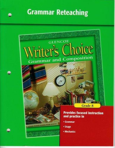 Grammar Reteaching, Writer's Choice, Grade 8