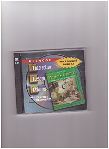 Interactive Lesson Planner CD-ROM (Glencoe Writer's Choice: Staff
