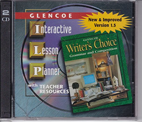 9780078233814: Glencoe Interactive Lesson Planner with Teacher Resources Grade 12 (Glencoe Writer's Choice Grammar