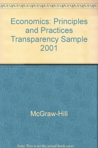 9780078235573: Economics: Principles and Practices Transparency Sample 2001