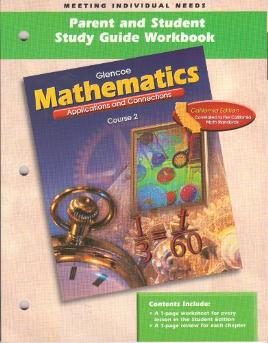 Mathematics: Appl & Conn Cours (9780078235917) by McGraw-Hill