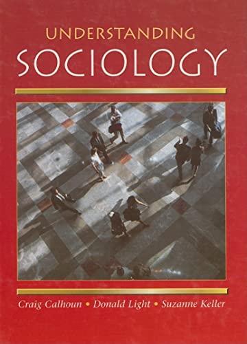 9780078236846: Understanding Sociology, Student Edition ) 2001