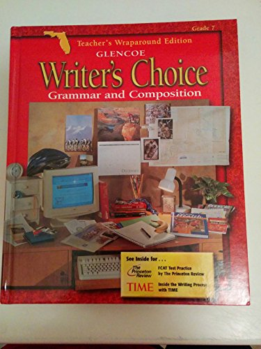 9780078237560: Writer's Choice Grammar and Composition Grade 7 2001 Teacher's Wraparound Edition