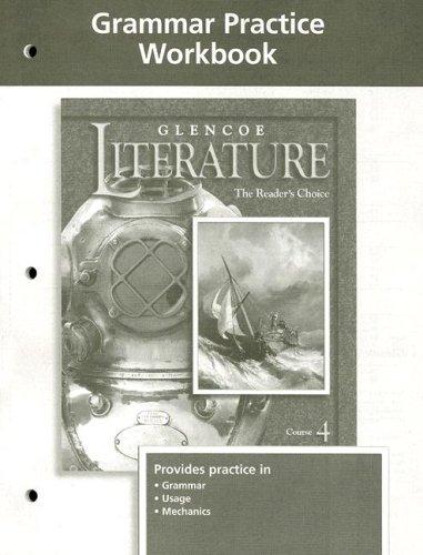 9780078239441: Glencoe Literature Grade 9 Grammar Practice Workbook