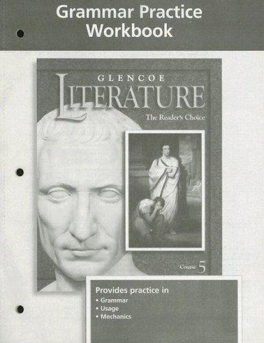 9780078239458: Glencoe Literature, Grammar Practice Workbook