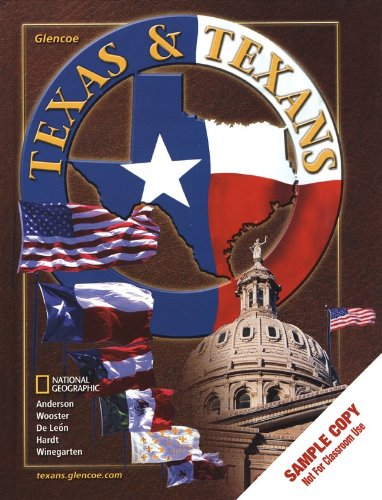 9780078239670: Texas and Texans, Student Edition