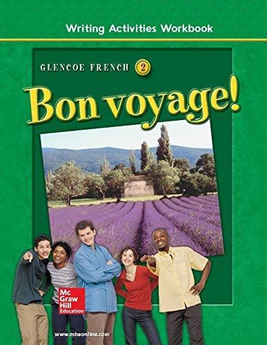 9780078243448: Bon voyage! Level 2, Writing Activities Workbook (GLENCOE FRENCH)