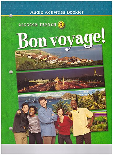 9780078243479: Bon Voyage! Level 2: Audio Activites Booklet ) 2002