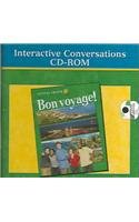 9780078243578: Glencoe French L2 Bon Voyage! Interactive Conversation Activities CDROM 2002