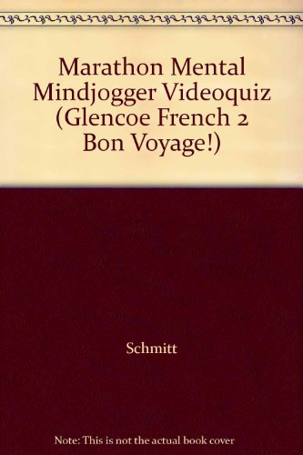 9780078243592: Marathon Mental Mindjogger Videoquiz (Glencoe French 2 Bon Voyage!)