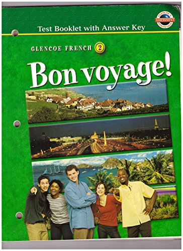 9780078243646: Bon Voyage! Level 2: Test Booklet with Answer Key