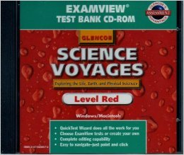 9780078244490: Examview Test Bank Manual (Glencoe Science Voyages--Level Red: Exploring the Life, Earth, and Physical Sciences)