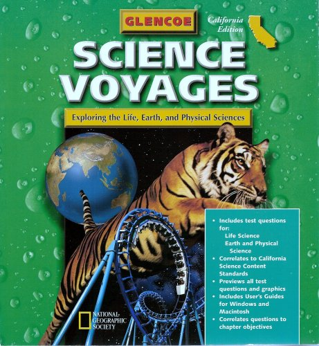 9780078244506: Examview Test Bank Manual (Glencoe Science Voyages: Exploring the Life, Earth, and Physical Sciences, Calif Ed.)
