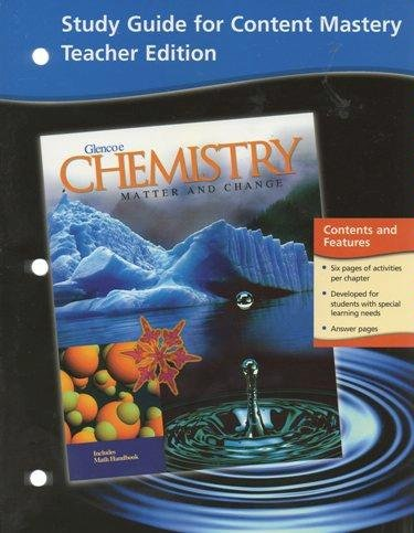 9780078245237: Study Guide for Content Mastery: Chemistry; Matter and Change