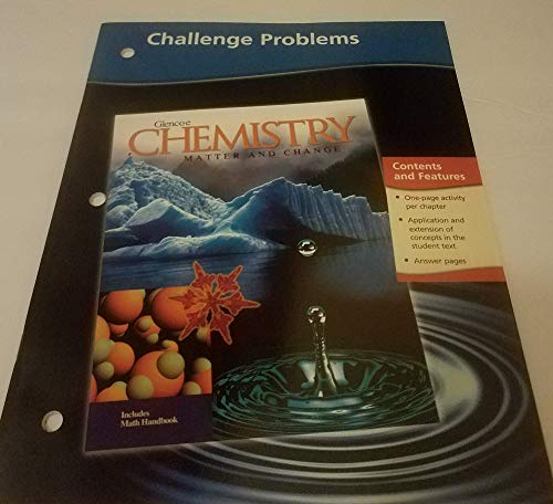 9780078245336: Chemistry: Matter and Change, Challenge Problems