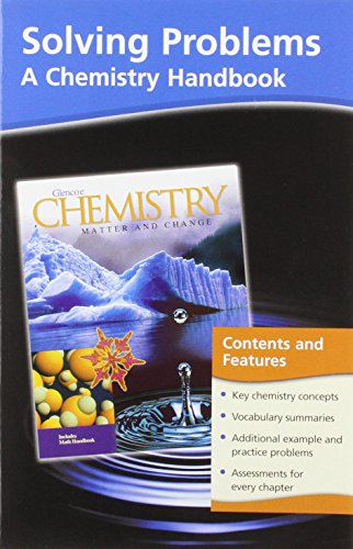 9780078245367: Glencoe Chemistry Solving Problems: A Chemistry Handbook (Matter and Change)