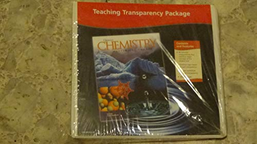 9780078245435: Teaching Transparencies Binder (Glencoe Chemistry : Matter and Change)