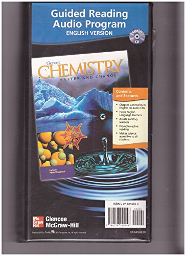 9780078245558: Chemistry: Matter and Change, Guided Reading Audio Summaries CD-Rom, English