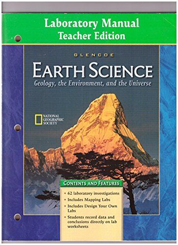 9780078245688: Laboratory Manual to accompany Glencoe Earth Science: Geology, the Environment, and the Universe, Teacher's Edition
