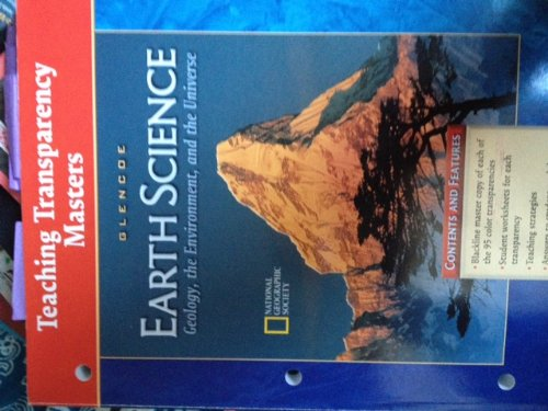 9780078245770: Glencoe Earth Science Geology, the Environment, and the Universe Teaching Transparency Masters