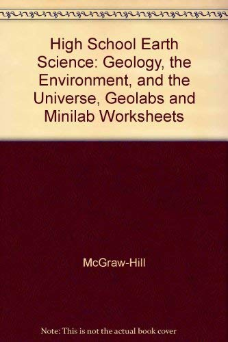 Earth Science-Geology, The Environment, And The Universe: National Geographic Society