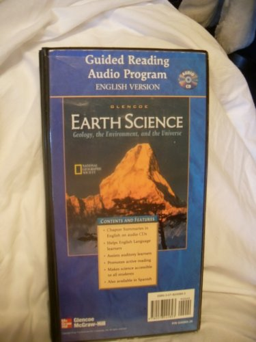 9780078245893: Glencoe Earth Science : Geology, the Environment, and the Universe. Guided Reading Audio Program English Version