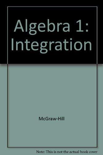 Algebra 1 textbook Mcgraw hill