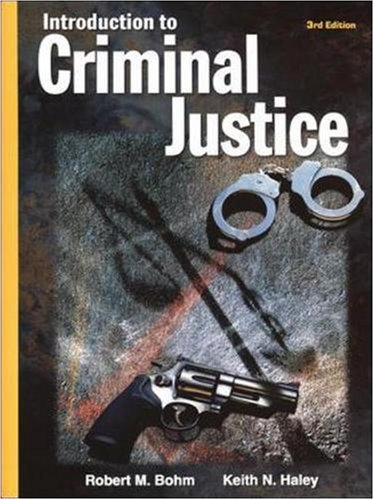 9780078249280: Introduction to Criminal Justice (Hardcover)