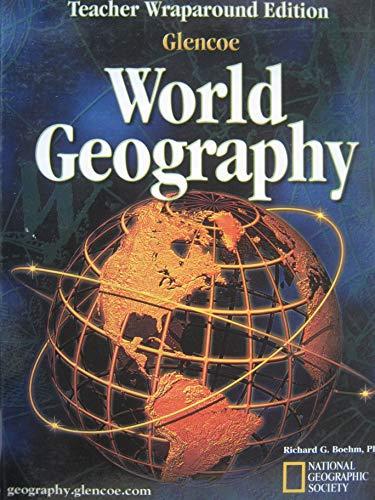 9780078249310: Glencoe World Geography Teacher's Wraparound Edition 2003